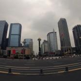 Plaça TianFu, al centre de Chengdu